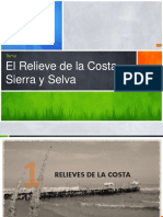 Los relieves del peru