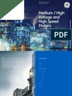 GEPC Medium High Voltage and High Speed Motors Brochure
