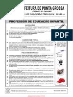 Prefeitura Professor de Educacao Infantil