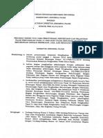 Peraturan Direktorat Jenderal Pajak Nomor PER 16 PJ 2016