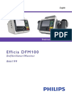 Efficia DFM100 English Instructions for Use