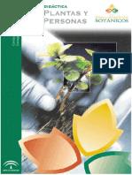 Unidad Didactica Las Plantas y Las Personas