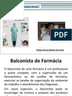 SENAC Aula 1 - Noções Gerais de Biossegurança - Balconista de Farmacia