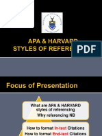 Apa Harvard Ppt 2014