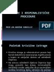 Korajlic Nedzad - Istrazne i Kriminalisticke Procedure