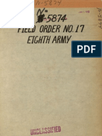 WWII 8th Army Report