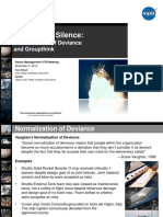 Safetymessage Normalizationofdeviance 2014-11-03b