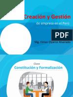 Creacion y Gestion de Empresa