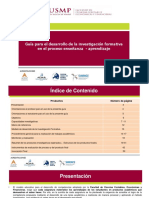 USMP Investigacion Formativa2018