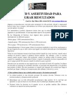 ActionCOACH Actitud y Asertividad Para Resultados