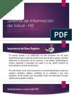 02 Sistema de Información de Salud - HIS
