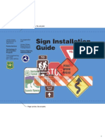 Sign Installation Guide