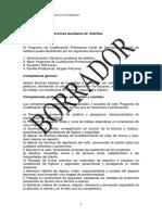 Catalogo España Servicios Auxiliares de Estetica
