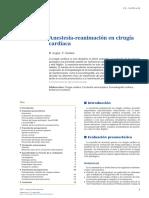 Anestesia en Cirugía Cardiaca (Emc 2018)