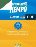 METROFÉRICO PARA LA CDMX