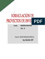 Sesion 2 Form Proy de Inversion