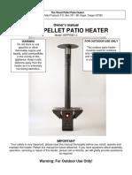 Wood Pellet Patio Heater Manual
