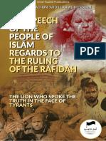 Ruling of the Rafidah