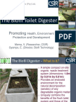 The Biofil Toilet Digester Promoting Health Environmental Protection and Development2
