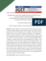 Recorrencias e Rupturas No Genero Discursivo Entrevista Uma Analise a Partir Do Texto Academico - Entrevista