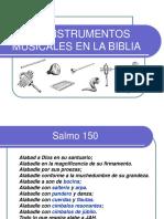Instrumentos Musicales Bíblicos