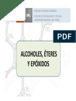Alcoholes, Éteres y Epóxidos