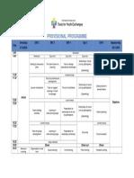 TYE Provisional Programme 2018 Iceland