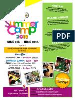 2018_Summer Camp_Flyer 4th June (1)
