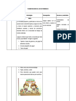 Planificacion de Las Actividades...Sesion de Aprendizaje