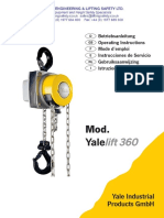 Yalelift 360_Operating Manual