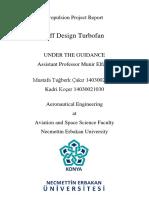 Off Design Turbofan  Project Report