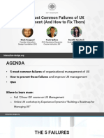 IDF - UX Management Webinar - Slides
