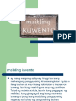 Maikling Kuwento