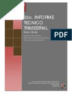 2º Informe Trimestral de Avance