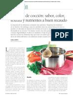 Técnicas de Coccion y Nutricion