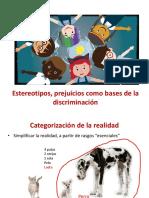 1. Estereotipo y Prejuicio Base de La Discriminación