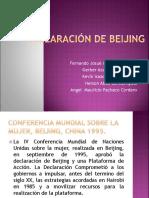 Declaración de Beijing