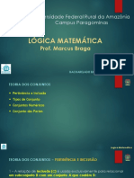 Slide 03 - Lógica Matemática - Teoria dos Conjuntos - pt 02