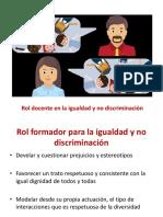 4. Rol docente en la Igualdad y No Discriminación.pptx
