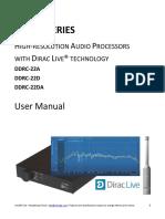 Dirac Series - DDRC-22 User Manual
