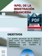 Papel de La Administ Financ