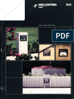 Kim Lighting LLF Low Level Floodlight Brochure 1983