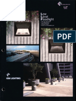 Kim Lighting LLF Low Level Floodlight Brochure 1994