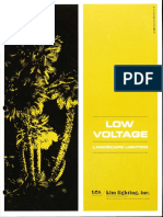 Kim Lighting Low Voltage Landscape Lighting Catalog 1967