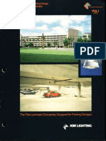 Kim Lighting PGL1 Parking Garage Luminaire Brochure 1994