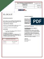 La - Re - 15 Hoja Tecnica y de Seguridad Qc Pac Lv Ht