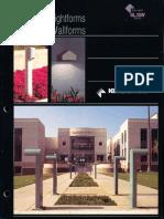 Kim Lighting Site Lightforms & Wallforms Brochure 1995