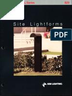 Kim Lighting Site Lightforms Brochure 1988
