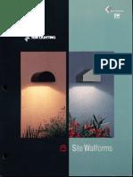 Kim Lighting Site Wallforms Brochure 1995