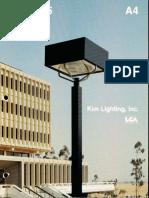 Kim Lighting Type 5 Brochure 1975